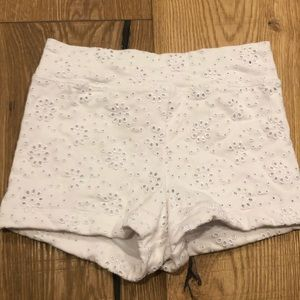 Capezio White flower Bottoms!